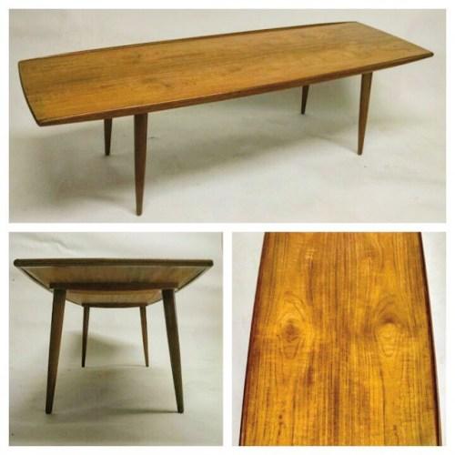 FOUNDDESIGN » » Solid Teak Magnus Olesen Side Table