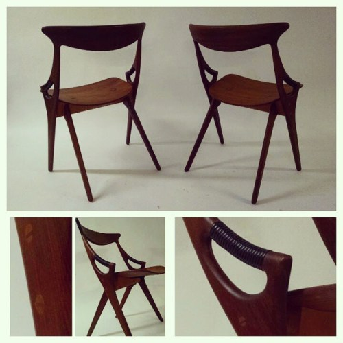 Set of 4 Hovmand Olsen Chairs