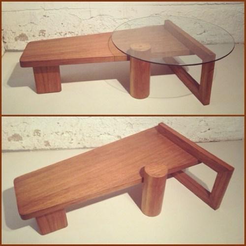 1950s Walnut Coffee Table