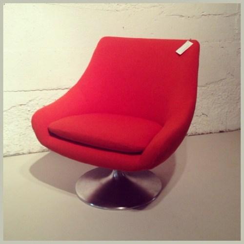 Orange Lounge Chair
