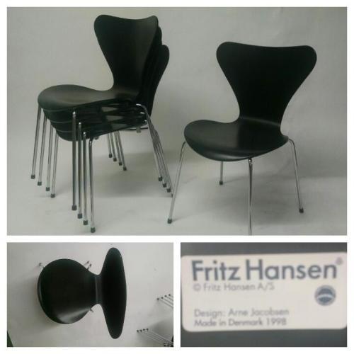 Series 7 Arne Jacobsen Chairs