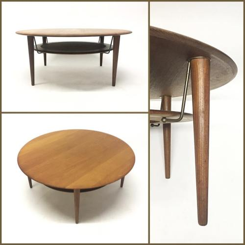 Hvidt Mølgaard Round Coffee Table