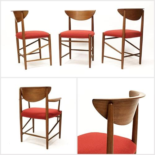 6x Hvidt & Mølgaard Dining Chairs