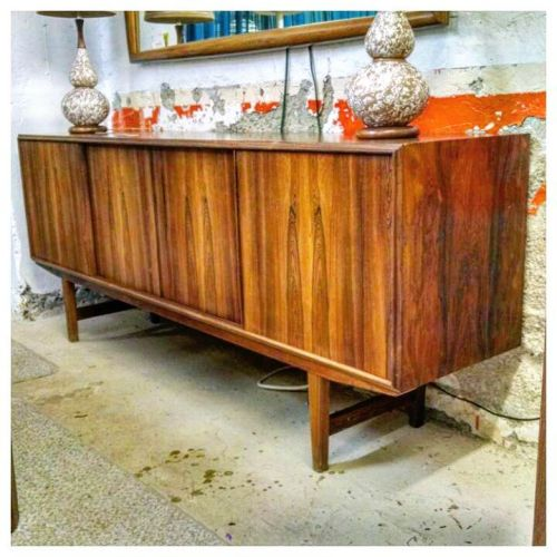 E.W. Bach Rosewood Sideboard