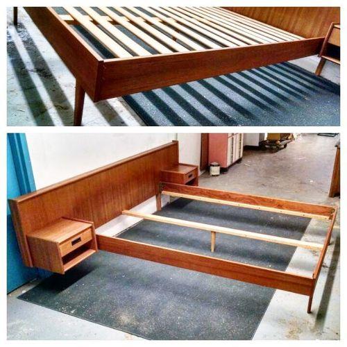 1960s Queen Bed