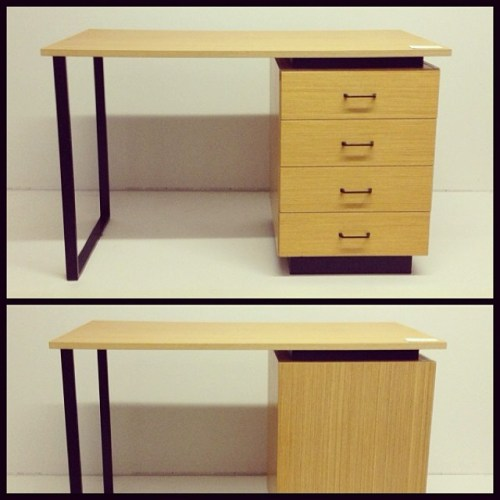 Reversible Swiss Desk