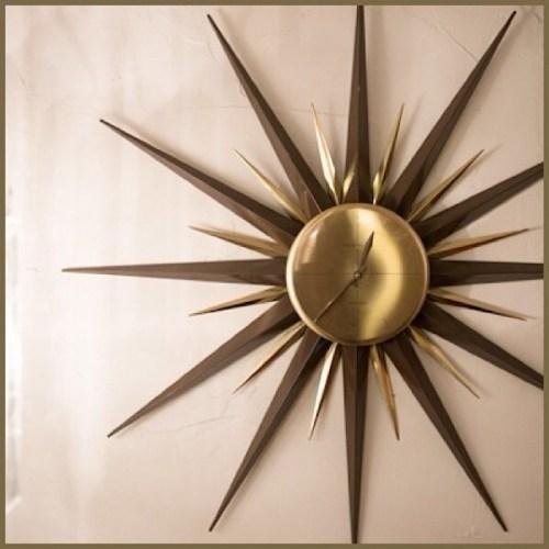 Westclox Starburst Clock