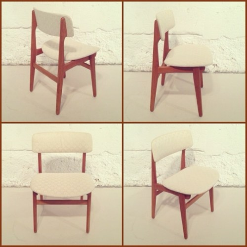 x8 Danish Teak Dining Chairs