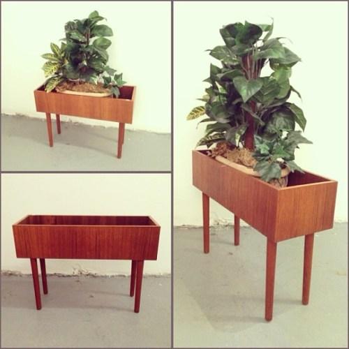 Teak Plant Box