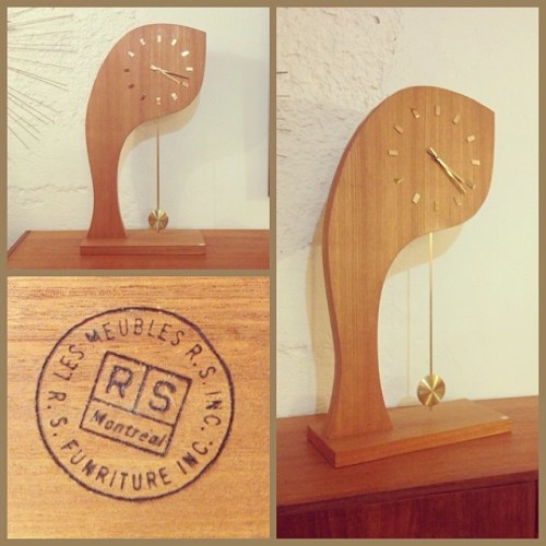 Canadian Table Clock