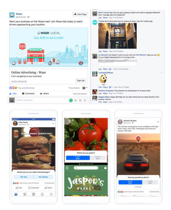 Facebook marketing strategy for small business Post engagement ads