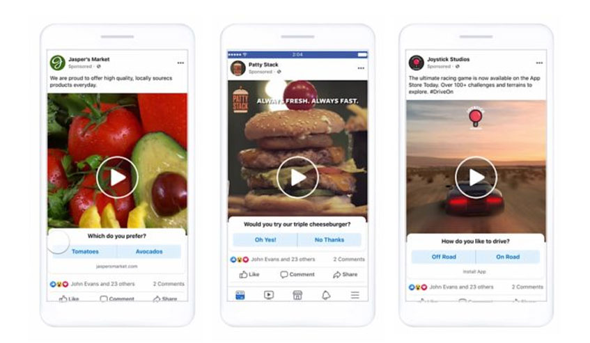 Facebook marketing strategy for small business Video ads