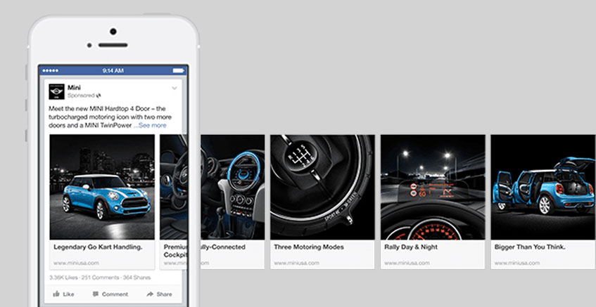 Facebook marketing strategy for small business Slideshow Ads