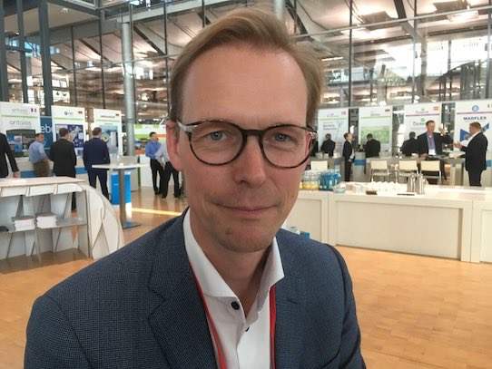 Hendrik Van Asbroeck, Managing Director bei Engie New Ventures. Foto: Stephan Hönigschmid