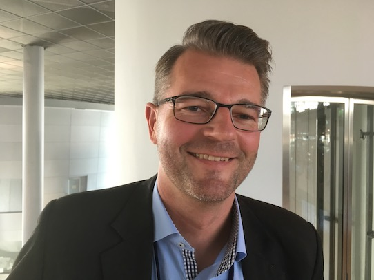 Marc Struhalla vom Leipziger Unternehmen C-Lecta. Foto: Stephan Hönigschmid