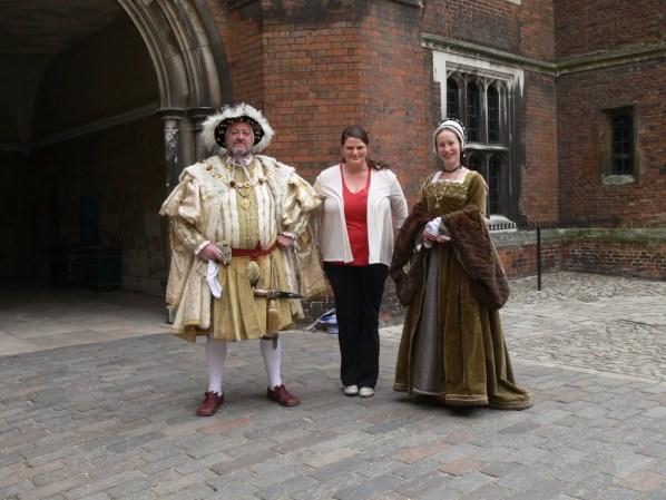 Me & Henry VIII, Hampton Court Palace, England