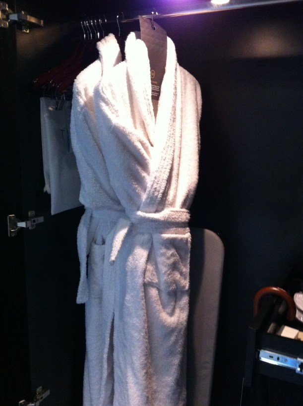 Posh robes from The Marker Hotel Dublin