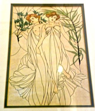 drawing of stained glass