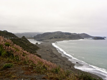 Russian River meets the Pacific