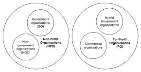 Non Government Organization NGO and Non Profit Organization NPO by foundship.org