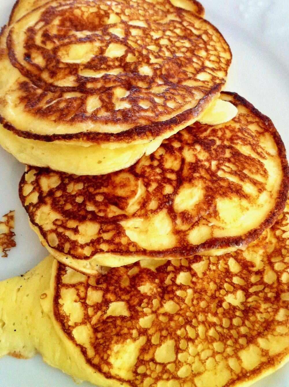 Thanks to their light and fluffy texture and low-carb appeal, even those who don't care for cottage cheese adore Kathleen's Cottage Pancakes!
