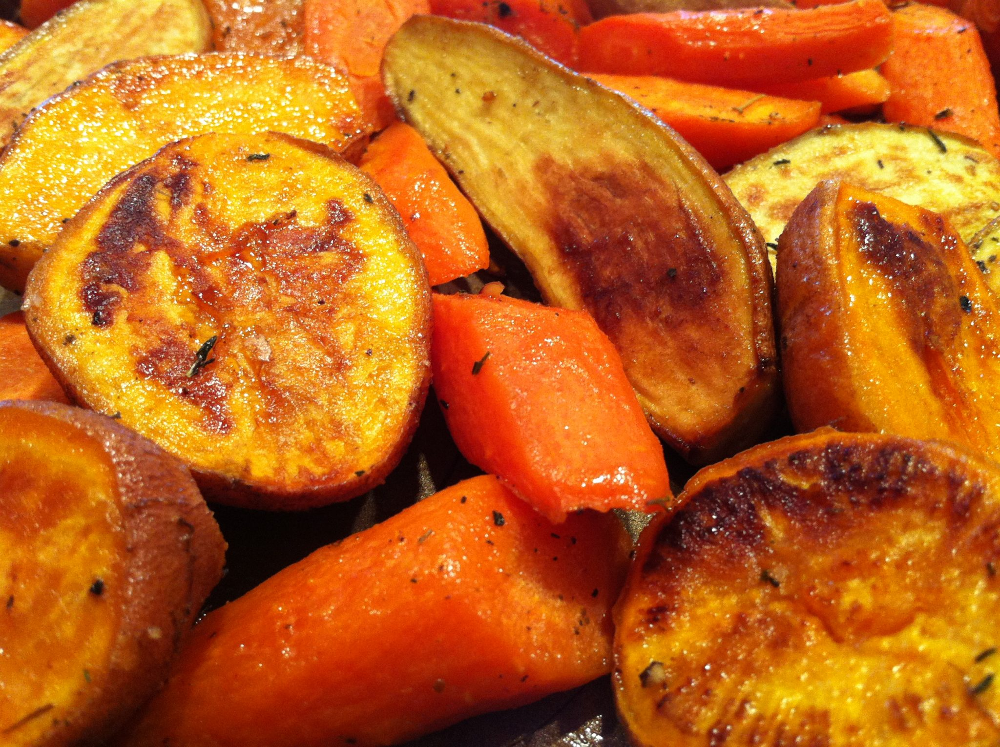 Maple Dijon Roasted Root Vegetables – The Fountain Avenue Kitchen