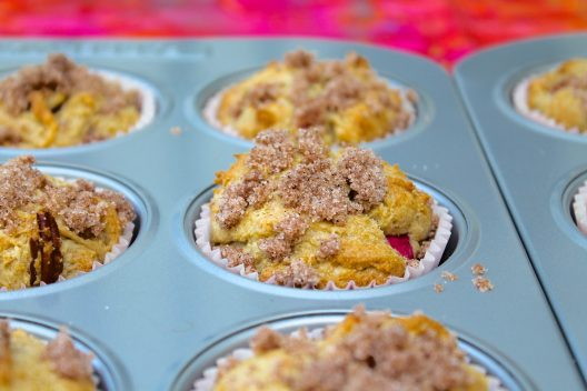 Sweet and tangy with a tender crumb, Rhubarb Streusel Muffins are sure to become a seasonal favorite!