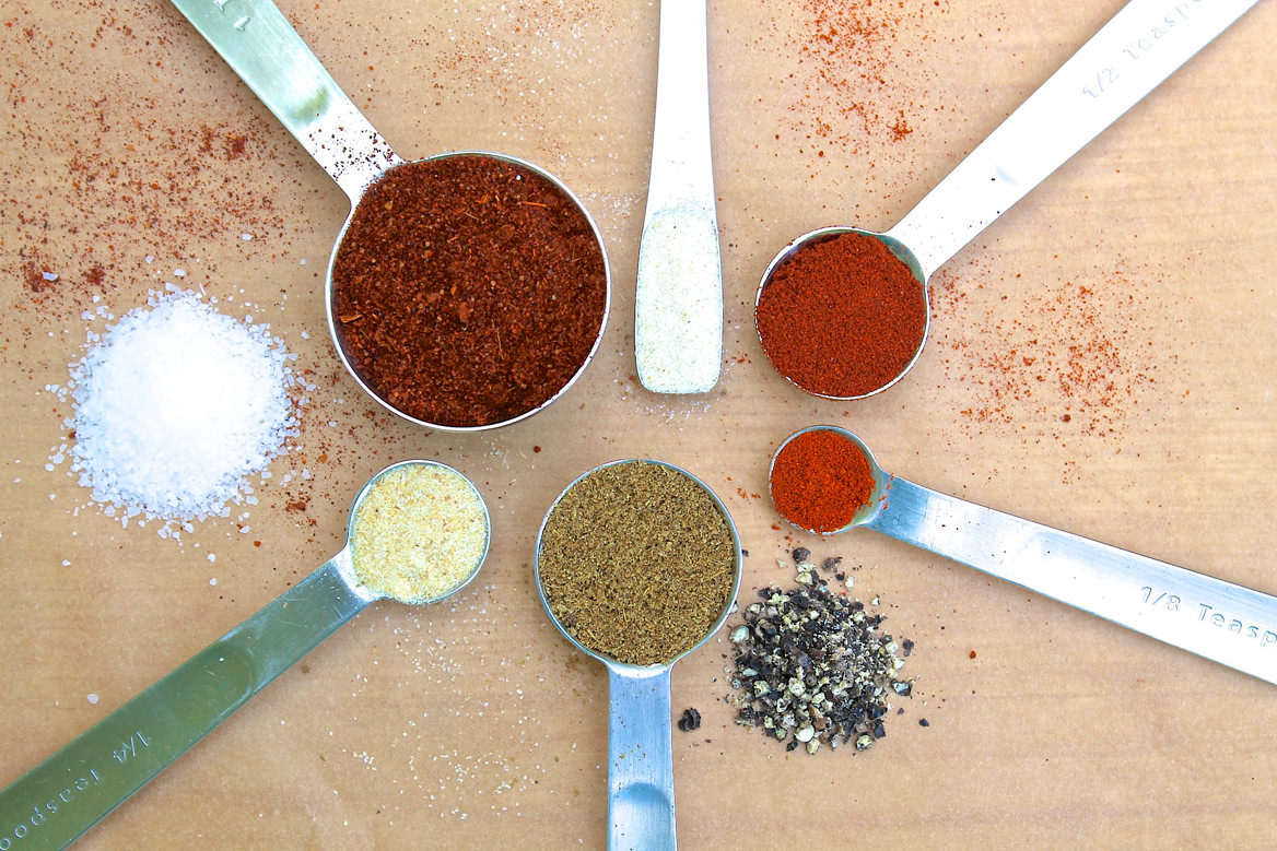 Homemade Taco Seasoning is a great way to add fresher flavor and control the ingredients with spices you likely have on hand.