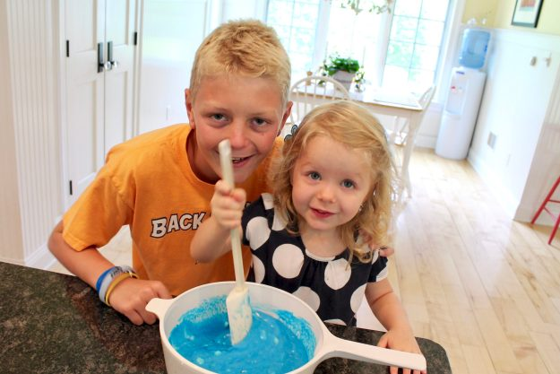 Homemade Playdough is easy with these simple instructions. As an added bonus, the texture is somuch smoother than store-boughtand there's less crumby mess!