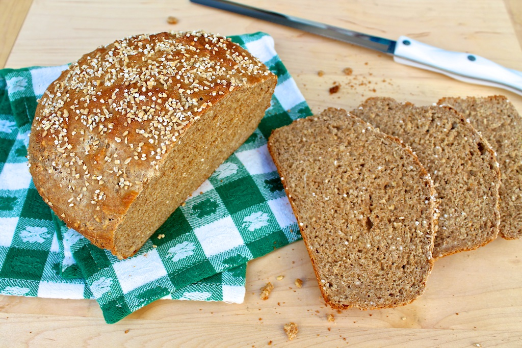 Brown Soda Bread With Steel Cut Oats The Fountain Avenue Kitchen