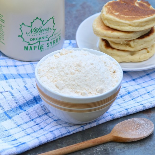 Homemade Bisquick Mix -- healthier with a gluten-free option