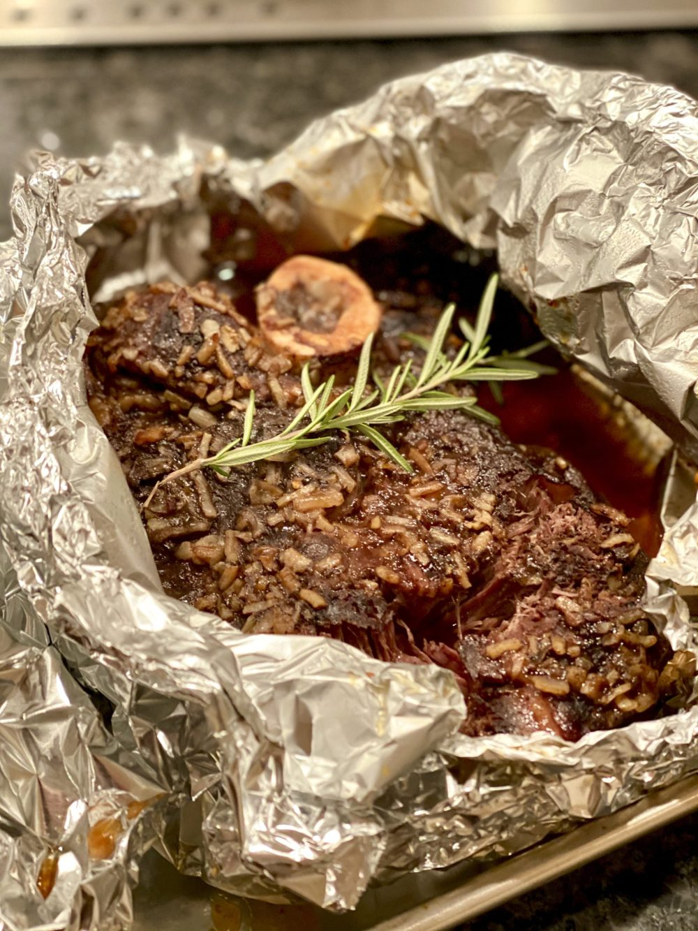 Looking for easy comfort food on a cold winter's day? This hands-off meal will warm your kitchen and your soul while the incredible aroma builds anticipation. The best part? Three simple ingredients are all that's needed for this fork tender meat that's been a favorite over several generations in our family.