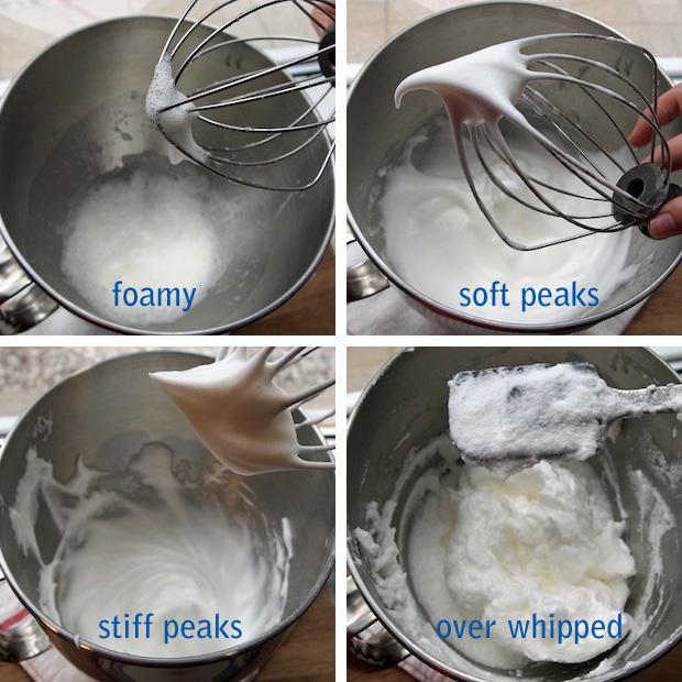 how to beat egg whites