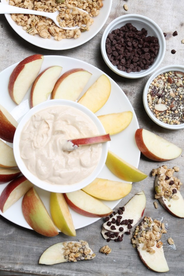 Creamy (and Healthy) Peanut Butter Dip