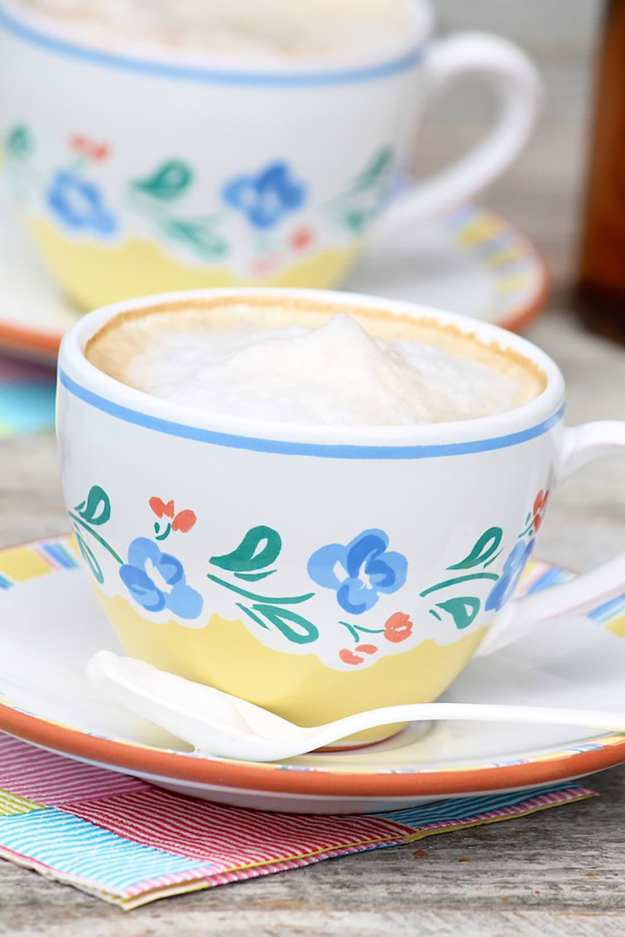 Homemade Lattes (and how to froth milk without a fancy gadget)