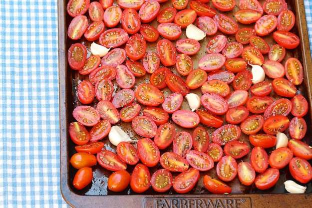 Slow Roasted Cherry or Grape Tomatoes