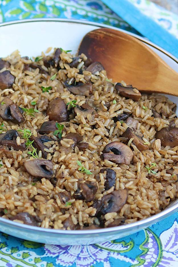 Oven Baked Brown Rice