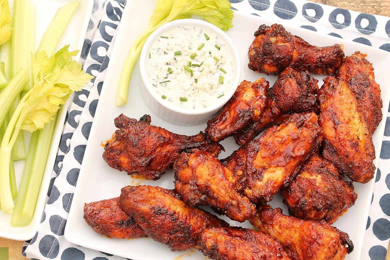 Crispy Buffalo Wings The Fountain Avenue Kitchen