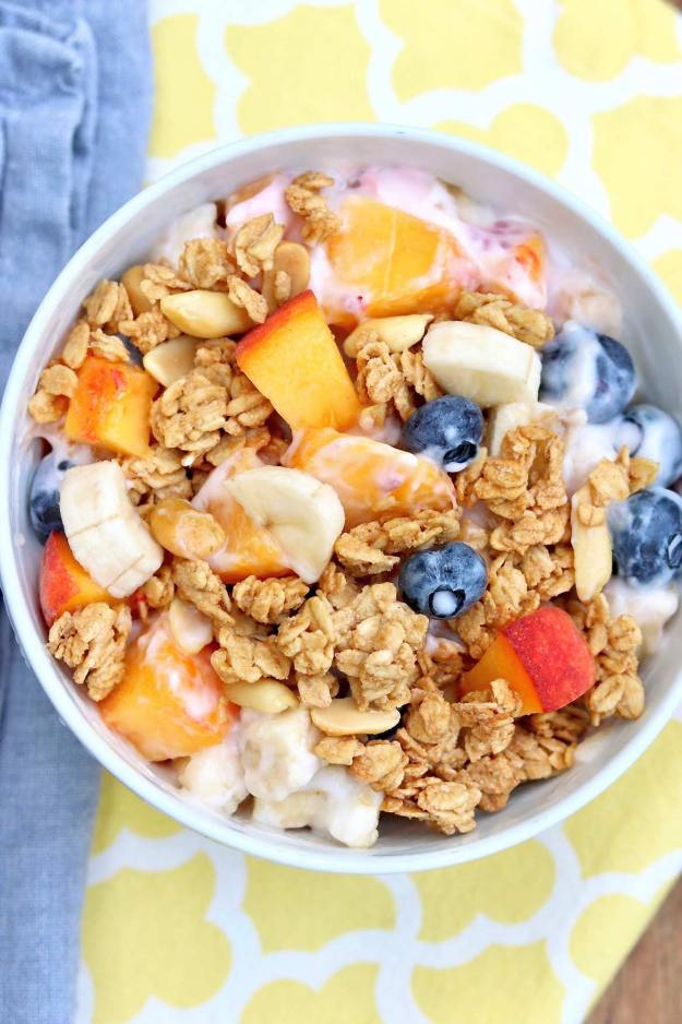 How to Build a Better Yogurt Bowl  ~  A yogurt bowl might not sound like anything new and exciting, but a slightly different approach can turn this easy breakfast into a new favorite — and it just so happens to be healthy, filling, and undeniably satisfying!