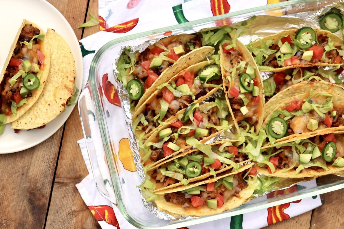 Baked Tacos – This novel approach to tacos offers a modern twist on an old favorite that's perfect for weeknight dinners, casual entertaining, and game day.