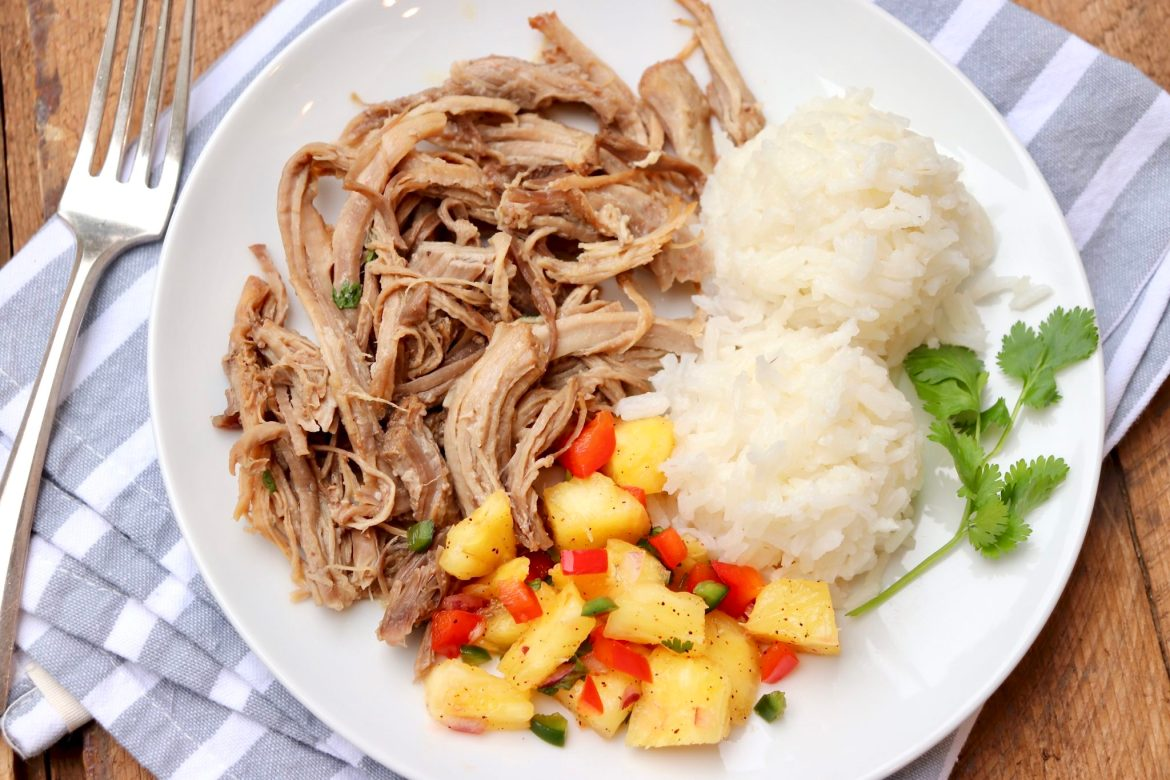 Slow Cooker/ Instant Pot Kalua Pork and Cabbage