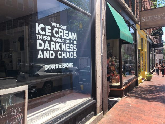 Great quote by Mt. Desert Ice Cream in Portland, ME