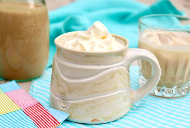 Homemade Bailey's Irish Cream is easy to make in your own kitchen and will save you money and taste fresher, too. Lovely as a holiday or hostess gift, the sweet cream is a treat to have on hand and can be enjoyed in so many ways.