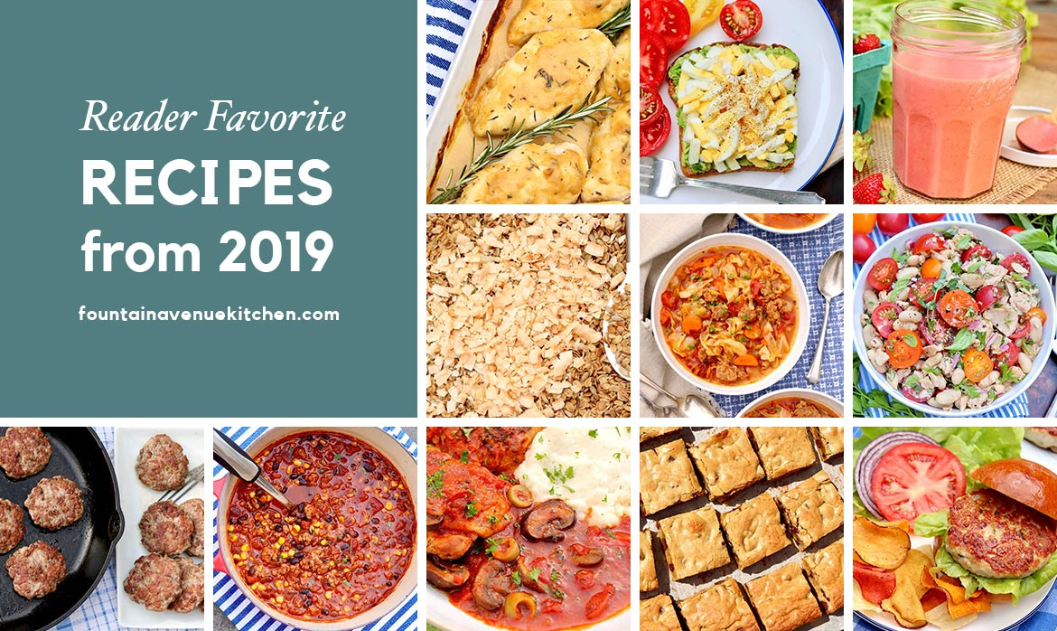 Reader Favorite Recipes 2019