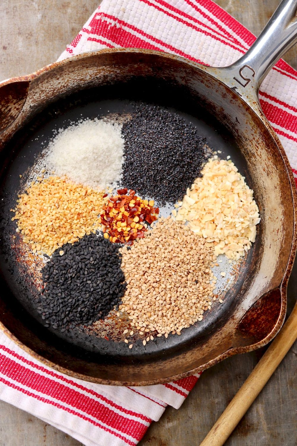 Add delicious crunch, flavor and health appeal to a long list of everyday foods with a quick sprinkle of this toasty, seedy, easy-to-make mix