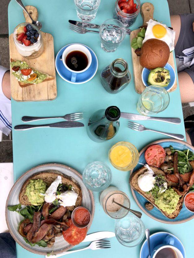 Bluestone Lane breakfast