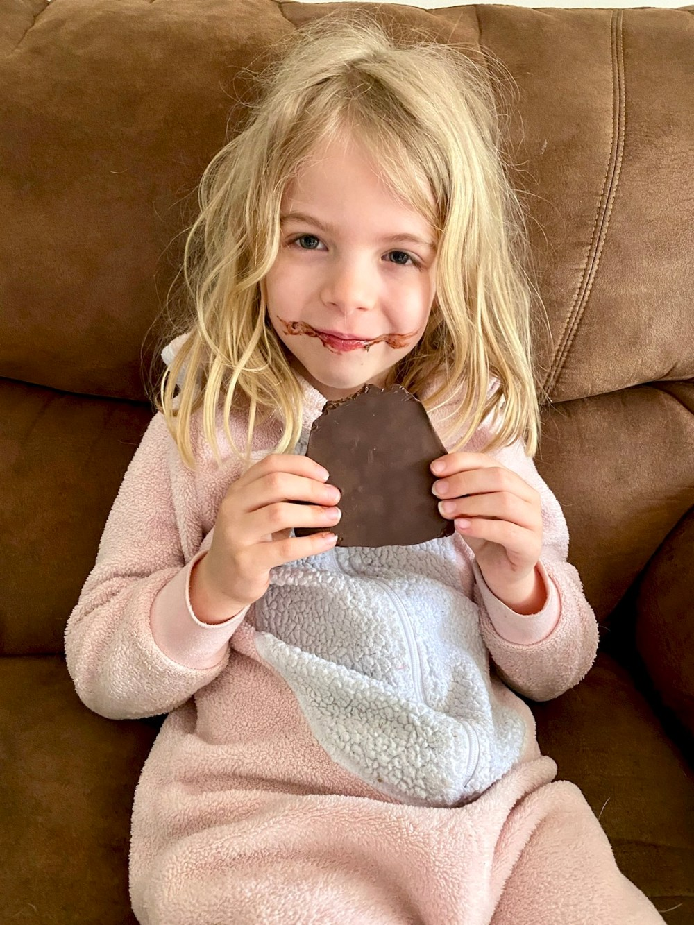 Loving that Easter chocolate!