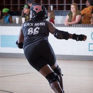 Black Mamba Regulators Roller Derby