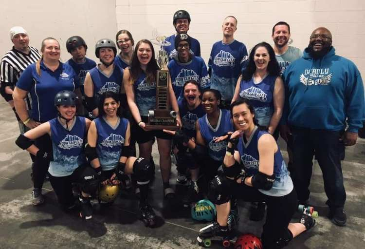 Fountain City Roller Derby All Gender Champions