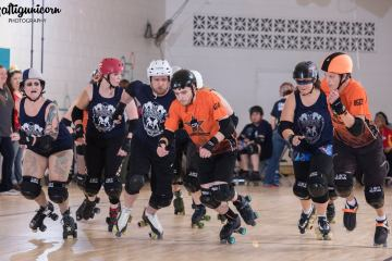Fountain City Roller Derby Usual Suspects vs. Untouchables